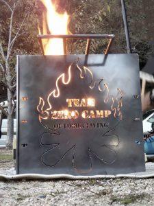 焚き火台&BBQスタンド